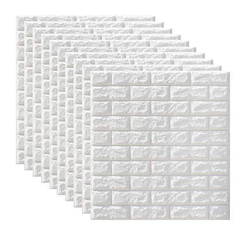 'N/A' Adhesivo De Pared Panel De Mampostería 3D, Papel Tapiz Artístico Autoadhesivo De Bricolaje, Adecuado para Sala De Estar, Dormitorio, Bar, Muebles De TV, Oficina(Size:20PCS)