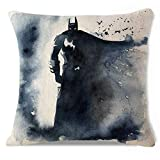 Martinad Watercolor Marvel Superheld Überwurf Kissen Casual Chic Fall Kissenbezug Sofa Set Deko...