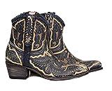 Sendra Boots 13409 DEBORA BOTIN WESTERN RASPADO DIBUJOS (36 EU, AZUL)