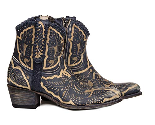 Sendra Boots 13409 Debora Western-Stiefel, Blau - blau - Größe: 36 EU