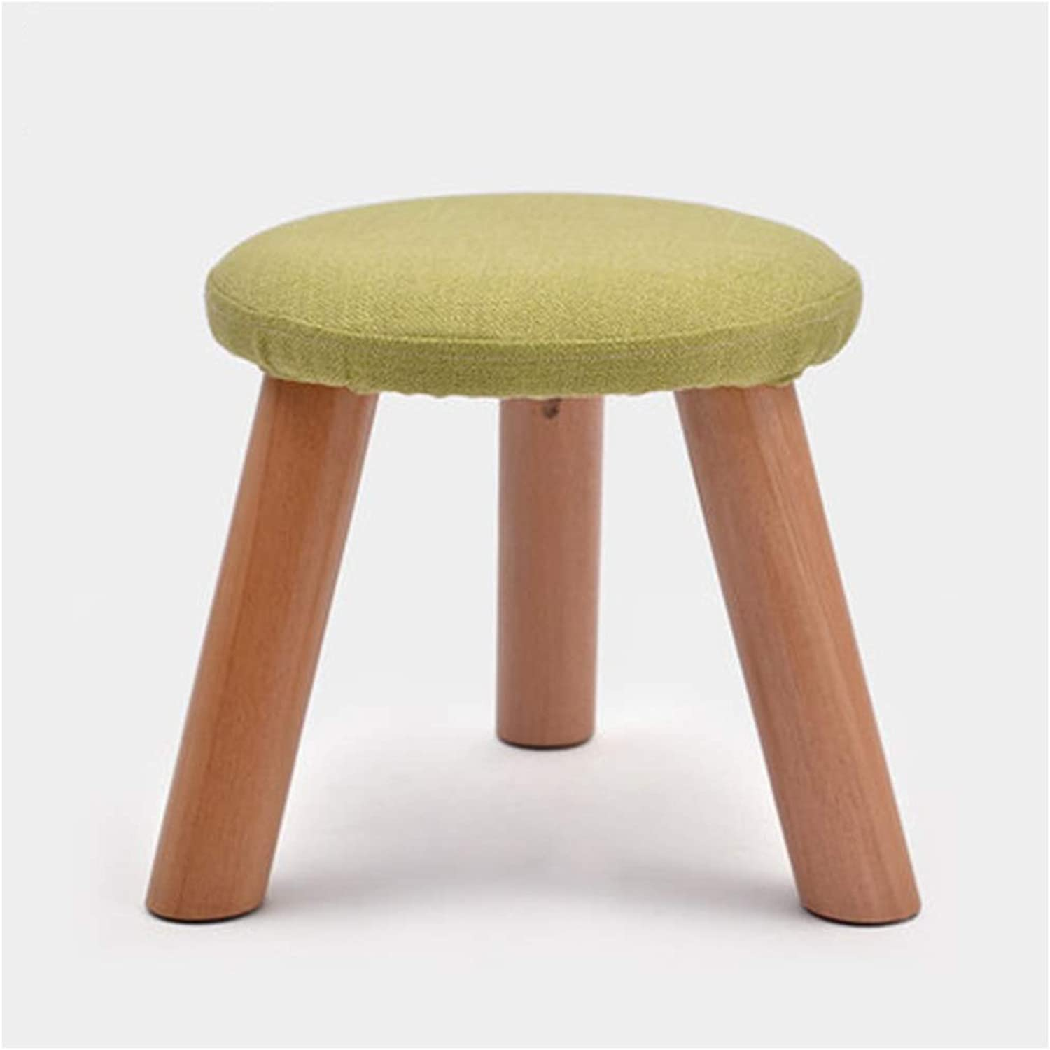 B.YDCM Wooden Bench- Fashion shoes Bench Stool Solid Wood Footstool Stool Stool Stool Fabric Bench Sofa Bench Coffee Table Stool - Wood Bench (color   B, Size   Large)