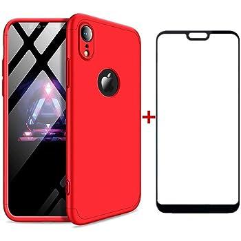 AILZH Funda iPhone XR Cubierta de 360 Grados Caja protección de ...