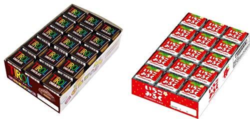 チロルチョコ コーヒーヌガー&いちご セット 60個