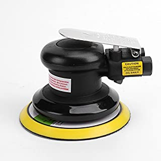 "5""Professional Air Random Orbital Palm Sander,Dual Action Pneumatic Sander,Polisher Sanding,Light Weight,Low Vibration, Heavy Duty"