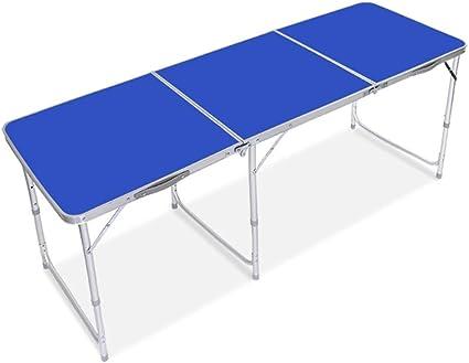 Mesa de comedor portátil de camping ligero 6 pies 1.8 M ...