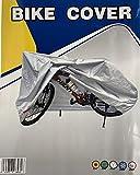 UVE - Funda Cubre Bicicleta 100% Poliéster, Proteje contra Rayos UV, Lluvia, Viento y heladas. Bike Cover