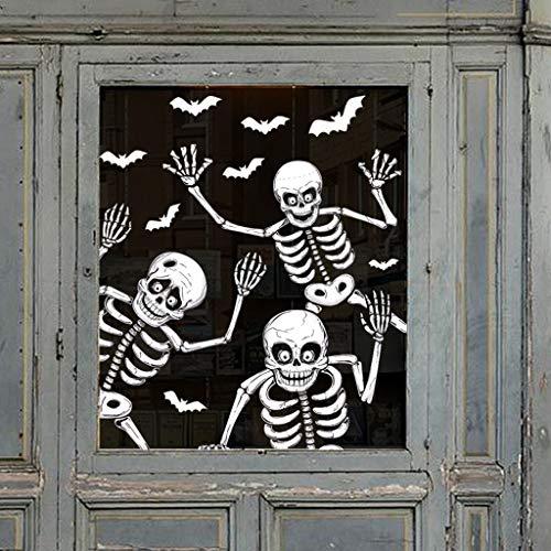 Halloween Wand Boden Aufkleber Horror Wandaufkleber Wall Stickers Wandtattoo 115 * 85CM Wanddurchbruch Sticker Aufkleber Halloween Wandaufkleber Aufkleber Dekoration