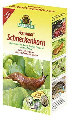 Neudorff Ferramol Schneckenkorn 2 kg, Granulatköder, Ungezieferschut