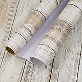 Hode Papel Adhesivo para Muebles Clásico Veta de Madera Marrón 45cmX2m Impermeable Papel Pintado Pegatina para Muebles Vinilos Decorativo PVC Película para Sala de Estar Dormitorio Armarios Cocina
