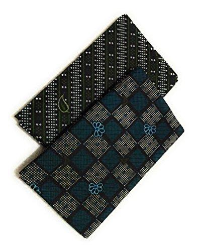 Cotton Colors Men's Cotton Printed Lungi (DD53, Multicolour, Free Size) – Pack of 2