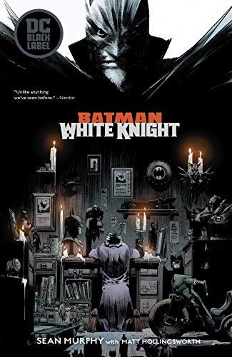 Preorder Agosto Batman Black e White The White Knight Figure Joker by Murphy