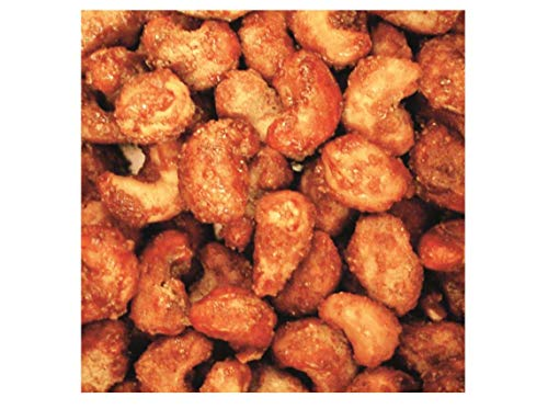 1 Kg = 2 x 500 Gramm Original Gebrannte Cashewnüsse Frische Verpackung feuergebrannt Cashewkerne zu Zucker 1:1
