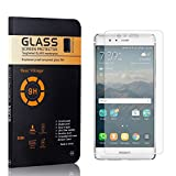 Screen Protector for Huawei P9, Bear Village HD Tempered Glass Screen Protector, Bubble Free, Anti Scratch Screen Protector Film for Huawei P9, 4 Pack