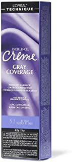 L'oreal Excellence Creme Permanent Hair Color, Medium Golden Blonde No.8.3, 1.74 Ounce