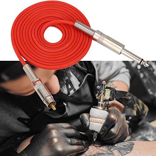 Attaches souples pour connecteur souple avec tatouage en silicone(rouge)