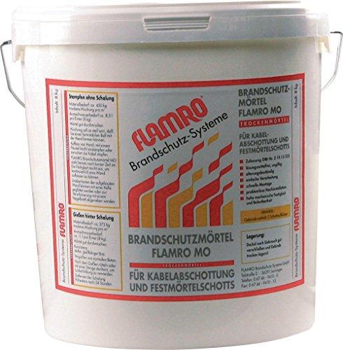 BIO Brandschutz KMO Brandschutzmörtel 90008 8,0kg Brandabschottung 4250586101349