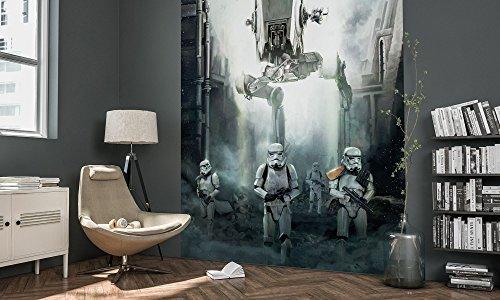 Komar 001-DVD2 Vlies Fototapete Star Wars Imperial Forces, Größe 200 x 250 cm (Breite x Höhe), 2 Bahnen, inklusive Kleister, Bunt