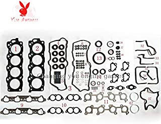 yise-P637 New 1UZ FOR TOYOTA CROWN OR LEXUS LS (UCF10) 400 4.0 1UZFE Engine Rebuild Kits Full set Auto Parts Engine Gasket 04111-50112