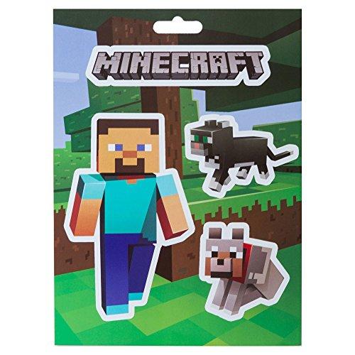 JINX Minecraft Steve Haustiere Aufkleber Set