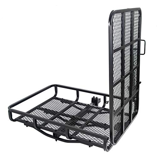7BLACKSMITHS Mobility Carrier Wheelchair Electric Scooter Rack Hitch Disability Medical Ramp 500Lbs Capacity