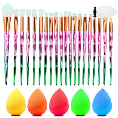 Zuzer Make Up Pinsel Set,20 Stück Professionell Make Up Pinsels Make-Up Pinsel Augenpinsel...
