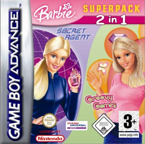 Activision Barbie Groovy Games & Secret Agent Barbie, GBA, ITA