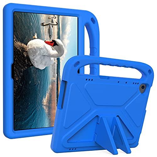 """ZHIWEI Tablet PC Tasche Kids Case für Lenovo Tab P10 TB-X705F (10,1""""), Leichter Schlagsicherer Griffständer Kinderfreundliche Schutzhülle (Color : Blue)"""