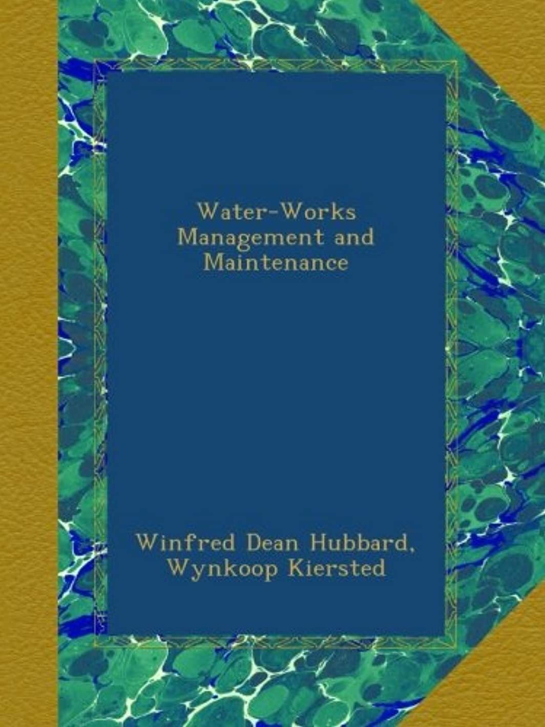 縁石残り物ボーダーWater-Works Management and Maintenance