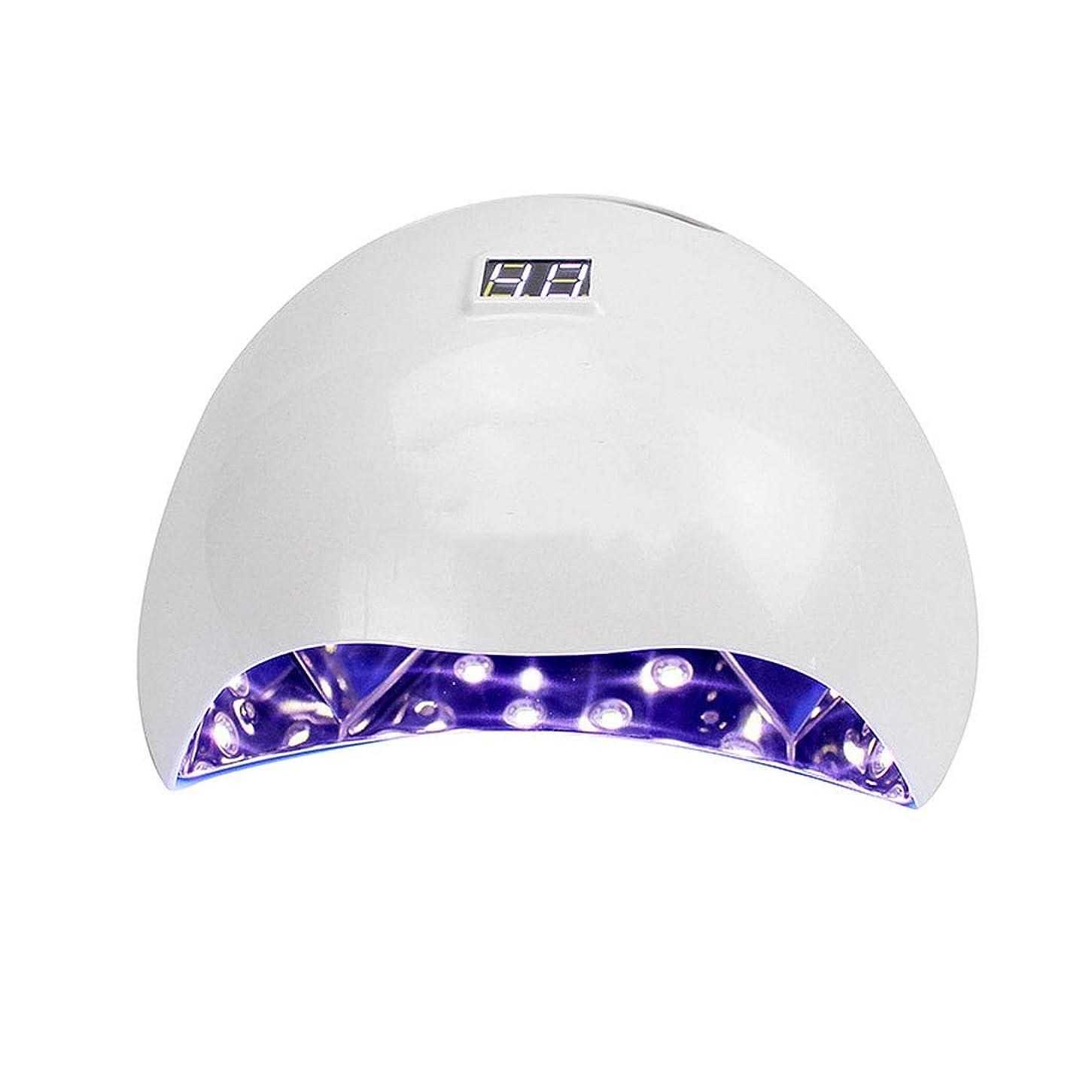 共役計画変わるシェラックおよびゲルの釘のための専門の紫外線およびLEDの釘ランプそして釘のドライヤーの表示