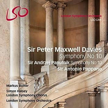 Sir Peter Maxwell Davies: Symphony No. 10 - Sir Andrzej Panufnik: Symphony No. 10