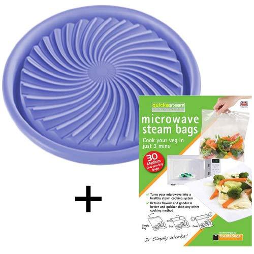 Spares2go universel décongélation pour micro-ondes/plaque de cuisson saine + cuiseur vapeur Sacs