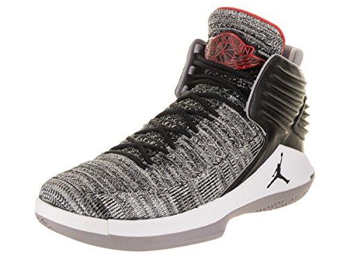 Mens Jordan xxxii 32 MVP Black Cement Basketball Shoes