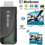 WiFi Display Dongle, iBosi Cheng 5G/2.4G Wireless Display Receiver Full HD 1080P HDMI Dongle for Smartphones Laptops to HDTV Projector Car Monitor