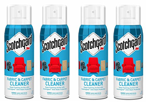4 X 3M SCOTCH GARD GUARD SCOTCHGARD SOFA FABRIC & UPHOLSTERY CLEANER PROTECTOR by Scotchgard