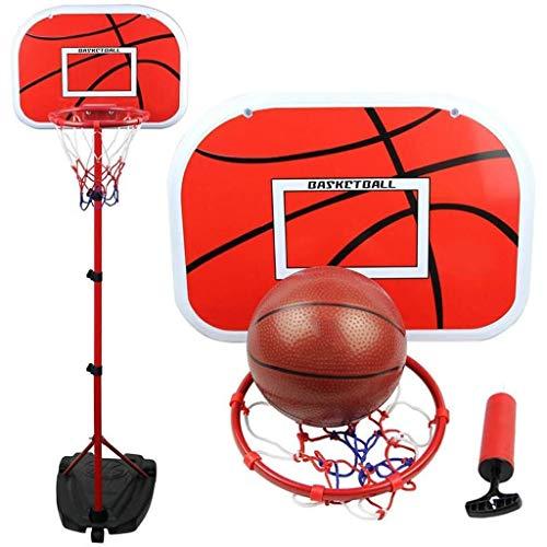 ZAIHW Ajustable Soporte del Sistema del Tablero Trasero elevable del aro de Baloncesto y la llanta for niños Adolescente de la Juventud, Cubierta de Baloncesto al Aire Libre GOL de Juego de Juego