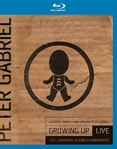 Peter Gabriel - Growing Up Live & Unwrapped (+ DVD) [Blu-ray]
