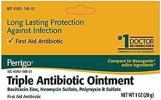 Perrigo Triple Antibiotic Ointment, 0.50 oz Per Tube (3 Pack)