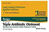 Perrigo Triple Antibiotic Ointment, 0.50 oz Per Tube (4 Pack)