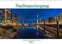 Nachtspaziergang (Wandkalender 2022 DIN A2 quer): Stadtansichten und Industriekultur in Deutschland bei Nacht (Monatskalender, 14 Seiten )