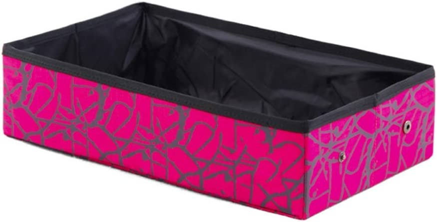 Detroit Mall WTREA Rectangular Litter Box Max 47% OFF Small Portable Foldable Out Fabric