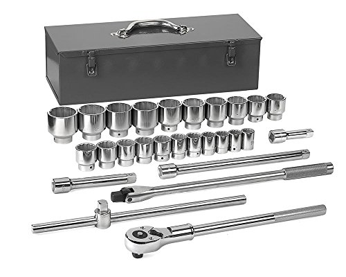 "GEARWRENCH 27 Pc. 3/4"" Drive 12 Point Standard SAE Mechanics Tool Set - 80880"