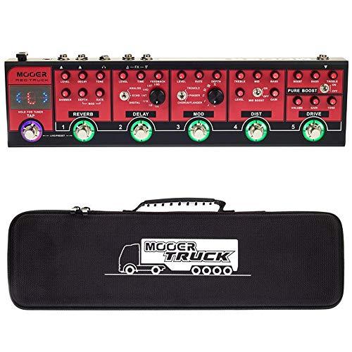 Pedaleira de Guitarra Mooer Red Truck CPT1 - PD1072