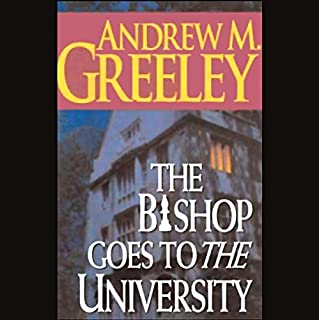 The Bishop Goes to the University audiobook cover art