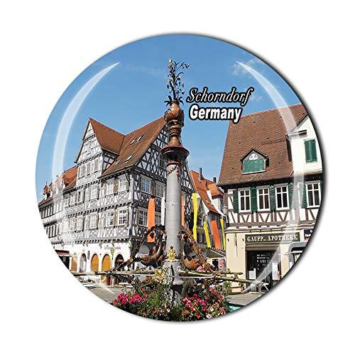 Schorndorf - Imán para nevera con diseño de Alemania