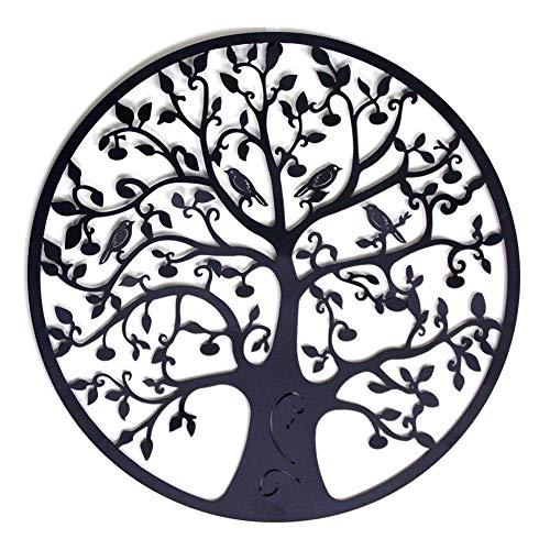 AIOXY decoración pared metal árbol vida decoración
