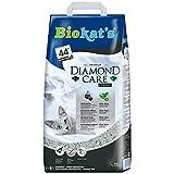 Biokat's Diamond Care Classic Katzenstreu / Hochwertige Klumpstreu für Katzen mit Aktivkohle und Aloe Vera