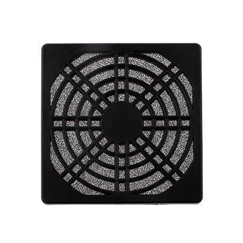 MagiDeal Caja de La Cubierta del Protector de La Parrilla del Protector del Filtro del Polvo del Ventilador Axial de Los 8cm para La Computadora de La PC