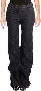 Womens Demitria 2 D Carlisle Denim Dark Wash Wide Leg Jeans