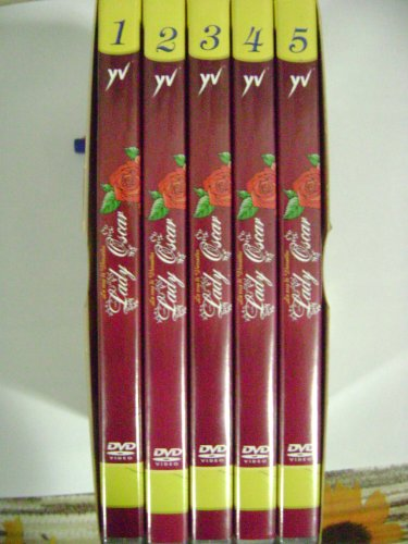 La rosa di Versailles LADY OSCAR 1 box(5 dvd). eps 01-10.