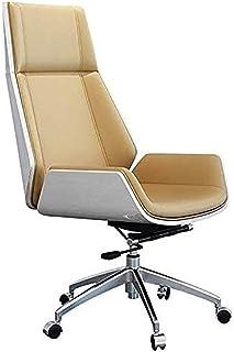 Silla de Oficina ergonómica Silla giratoria Silla Silla de oficina ergonómicas de alta Back Home Office reclinable cómodo lumbar PU Soporte ejecutiva de piel de alta capacidad silla de escritorio Sill